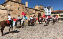 Döğerli atlılardan İsrail'e tepki