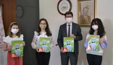 Hamidiye Ortaokulu öğrencileri diğer okullarla ortak bir dergi çıkardı
