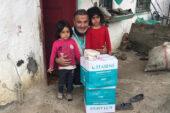 Hasene Derneği 750  aileye gıda yardımı yaptı