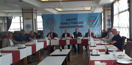 Balkan Türkleri Konfederasyonu Afyonkarahisar'da toplandı