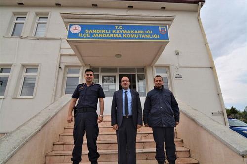 Başkan Çöl'den jandarma mensuplarına ziyaret