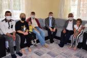 Başkan Zeybek'ten sürpriz ziyaret