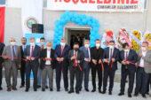 Çobanlar Tekstil Fabrikası hizmete açıldı