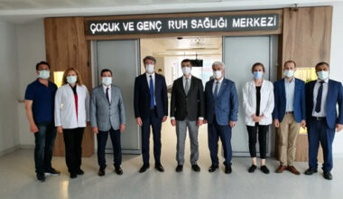 Devlet Hastanesi'ne üst düzey ziyaret