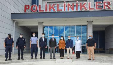 Korkmaz, Sinanpaşa Hastanesi'ni inceledi