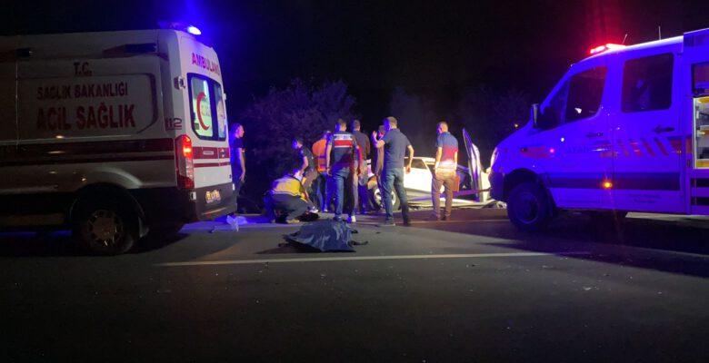 Konya yolu kana bulandı: 4 ölü, 2 yaralı