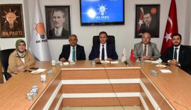 AK Teşkilat'ın bayramlaşması Erdoğan liderliğinde yapıldı