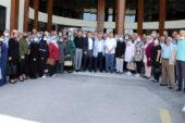 Başkan Zeybek teşkilat ile birlikte