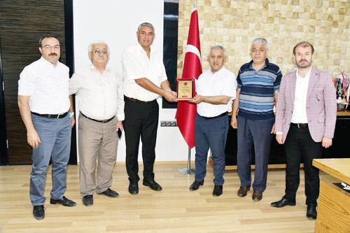 Belediye Başkanı Zeybek'e 3×3 teşekkürü