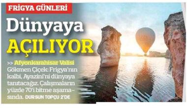 Frig Vadisi'nin ünü yayılıyor: Türkiye Gazetesi geniş yer ayırdı