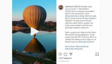 Gezi fenomeni Afyon'u tanıttı