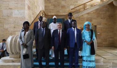 Yurdunuseven, TBMM'de Senegalli  mevkidaşlarını ağırladı