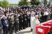 Kahraman Şehit Cinbaş,  dualarla son yolculuğuna uğurlandı