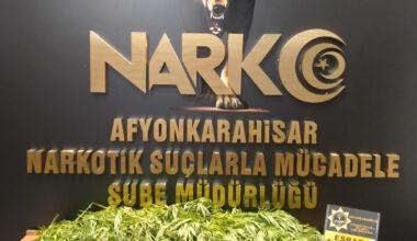 Narkotik Şube'den uyuşturucu operasyonu