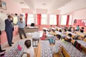 Başkan Mustafa Çöl, öğrencileri ziyaret etti