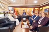 Başkan Mustafa Çöl'e Genel Merkez'den ziyaret