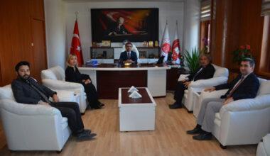 MHP yönetimi yeni atanan bürokratları ziyaret etti