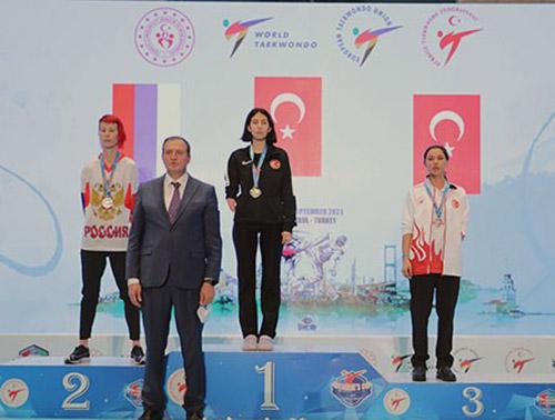 Meryem yine Avrupa şampiyonu