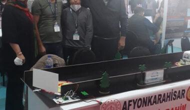 TEKNOFEST finalinde Afyon'u temsil ediyorlar