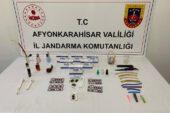 İzmir'den Afyon'a zehir nakli Jandarma'ya takıldı