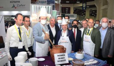 Afyon'un lezzetleri Antalya'da tanıtıldı