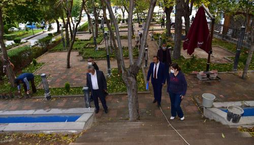 AnıtPark Kafe'de çalışmalar sürüyor