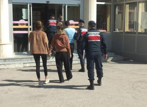 Magandalar Jandarma'dan kaçamadı