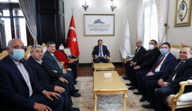 """""""Muhtarlar devlet ile vatandaş arasında köprü konumunda"""""""