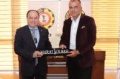 TOBB Züccaciye Sektör Başkanı Kolbaşı'dan Serteser'e ziyaret