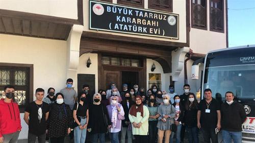 Üniversite öğrencileri Afyonkarahisar'ı tanıyor